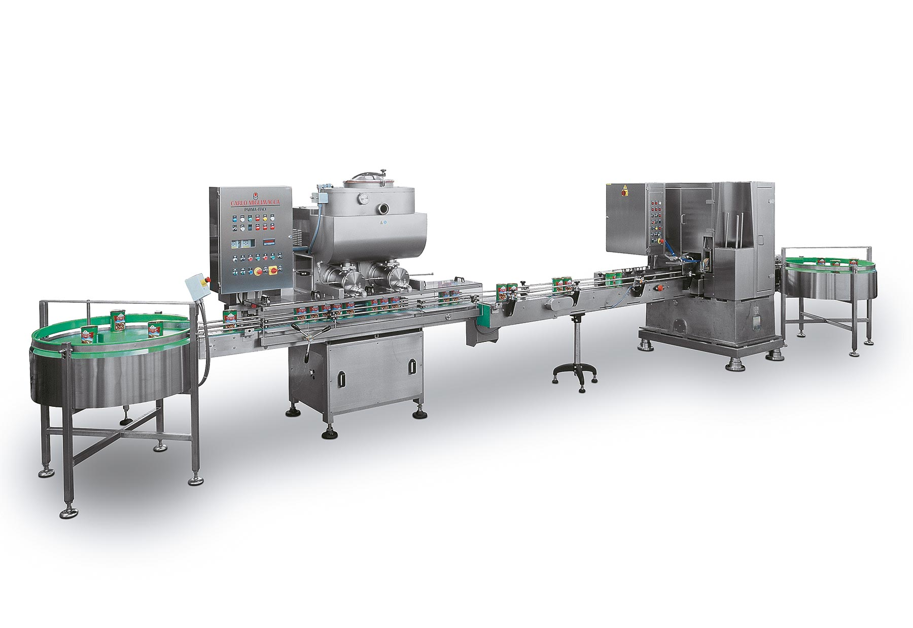 Packaging line GHEE LINE